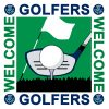 Golfers Welcome Scheme Logo